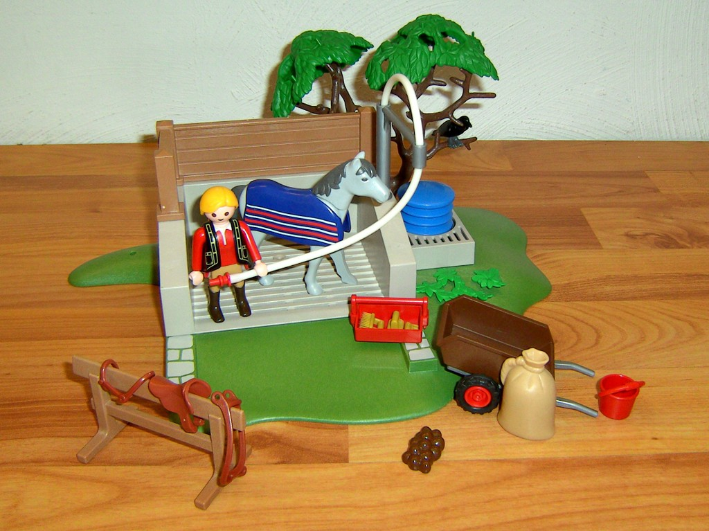 Playmobil 4193 pferde waschplatz ebay - Pferde playmobil ...