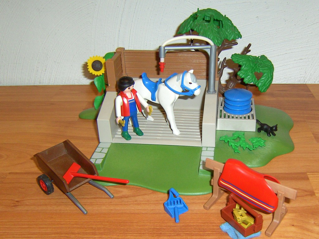 playmobil spiele pferde