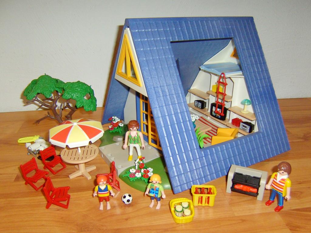 Playmobil 3230 maison de vacances chalet ebay for Casa playmobil 123