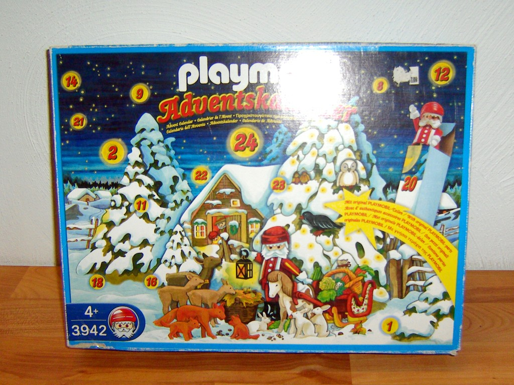 playmobil 3942 adventskalender waldweihnacht ebay. Black Bedroom Furniture Sets. Home Design Ideas