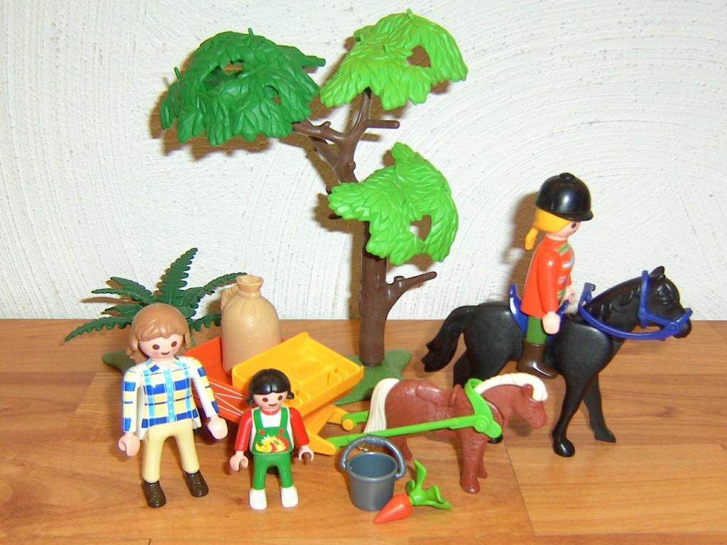 Playmobil ausflug mit pony kutsche und pferd ebay for Kutsche playmobil