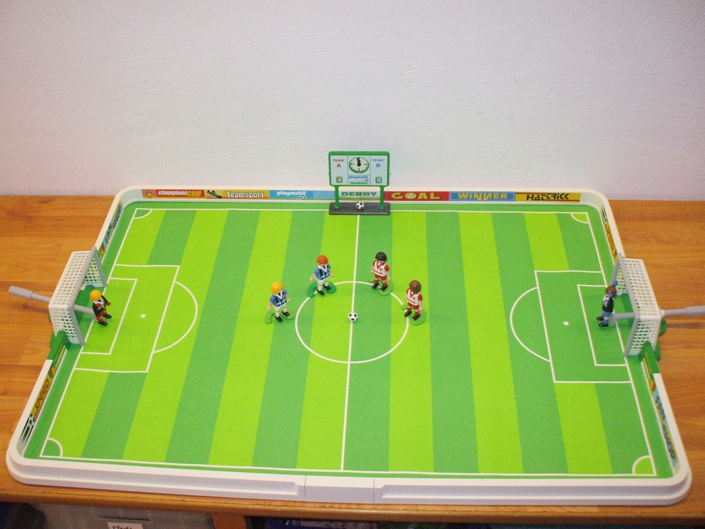 playmobil 4700 fussballstadion ebay. Black Bedroom Furniture Sets. Home Design Ideas