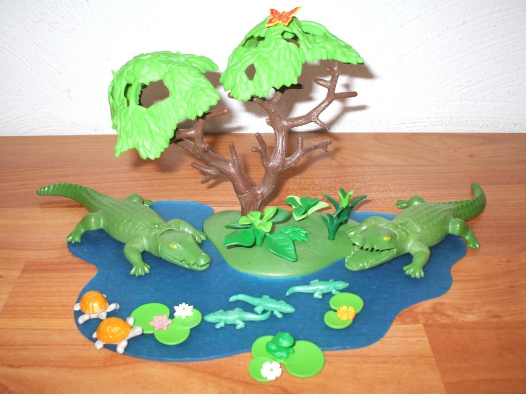 Playmobil 3229 Zoogehege Mit Alligatoren Und Babys Ebay