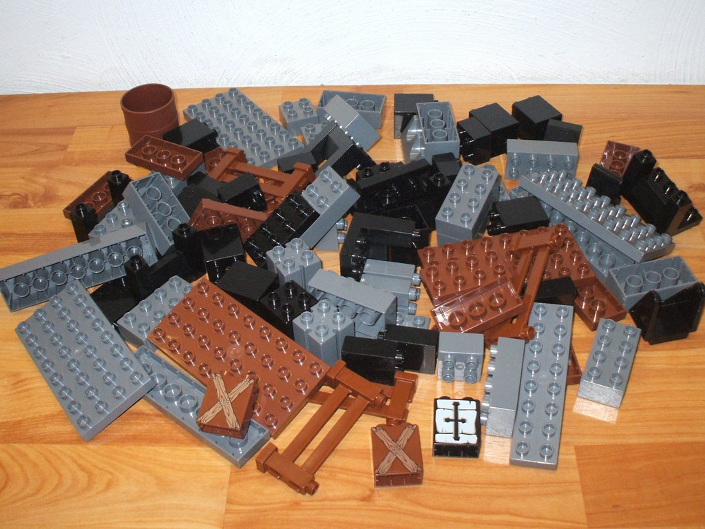 lego duplo 1 kg steine zum thema ritterzeit. Black Bedroom Furniture Sets. Home Design Ideas