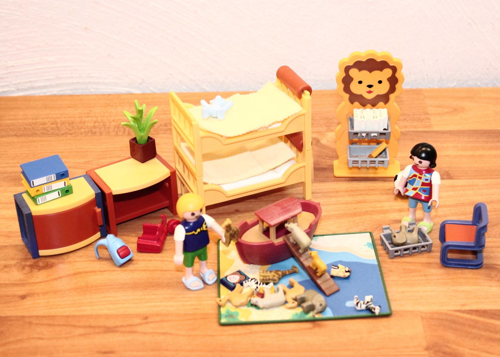 Playmobil 4287 kinderspielzimmer mit kindern und viel for Playmobil kinderzimmer 4287