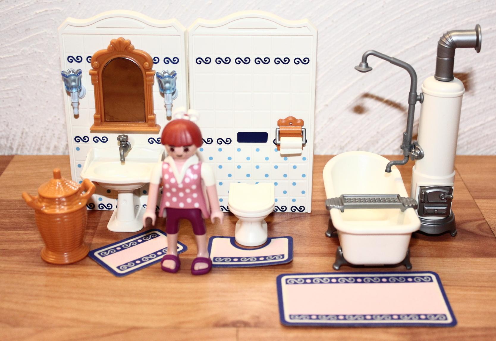 playmobil: 5318 badezimmer mit wanne, Badezimmer ideen