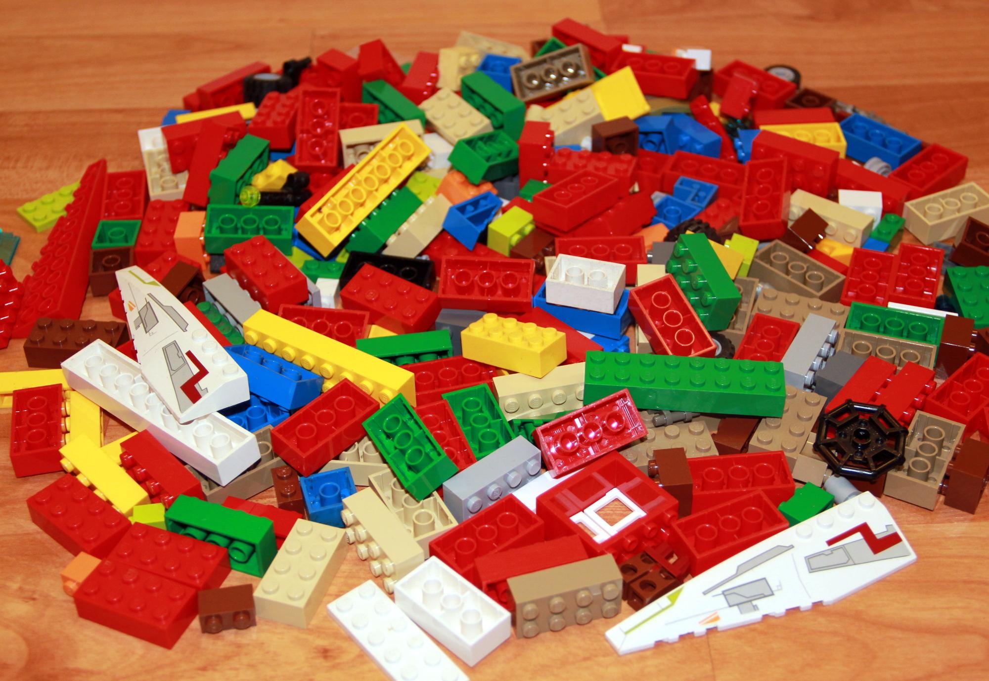 lego 500g 19 98 kg unsortierte lego steine vorwiegend. Black Bedroom Furniture Sets. Home Design Ideas