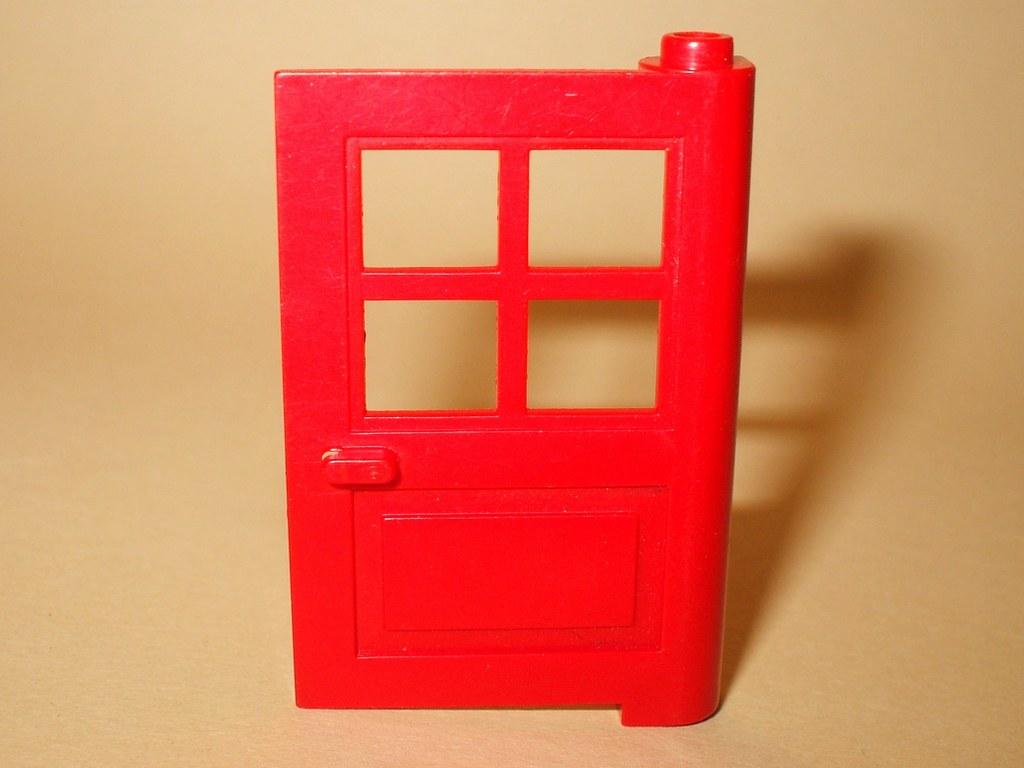 lego 3861 rote haust r 1x4x5 mit kreuz 675 1817 6383 6364 4954 1966 ebay. Black Bedroom Furniture Sets. Home Design Ideas