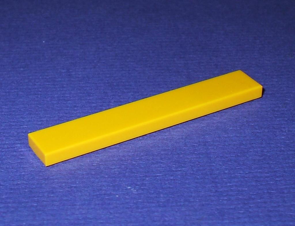 lego 6636 neu 3 gelbe fliesen 1x6 aus 10134 8275 6753. Black Bedroom Furniture Sets. Home Design Ideas