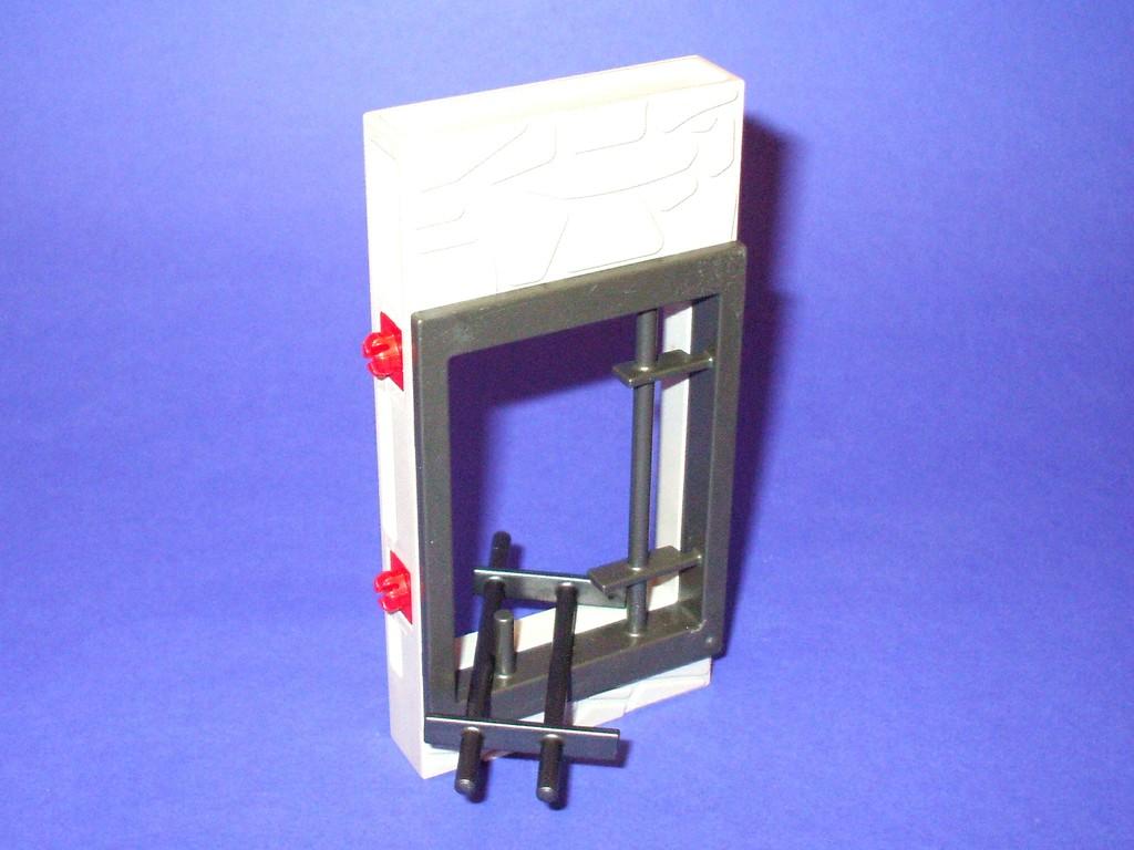 Playmobil 30219590 Wand mit Gitter ausbruchfähig Ersatzteil 3112