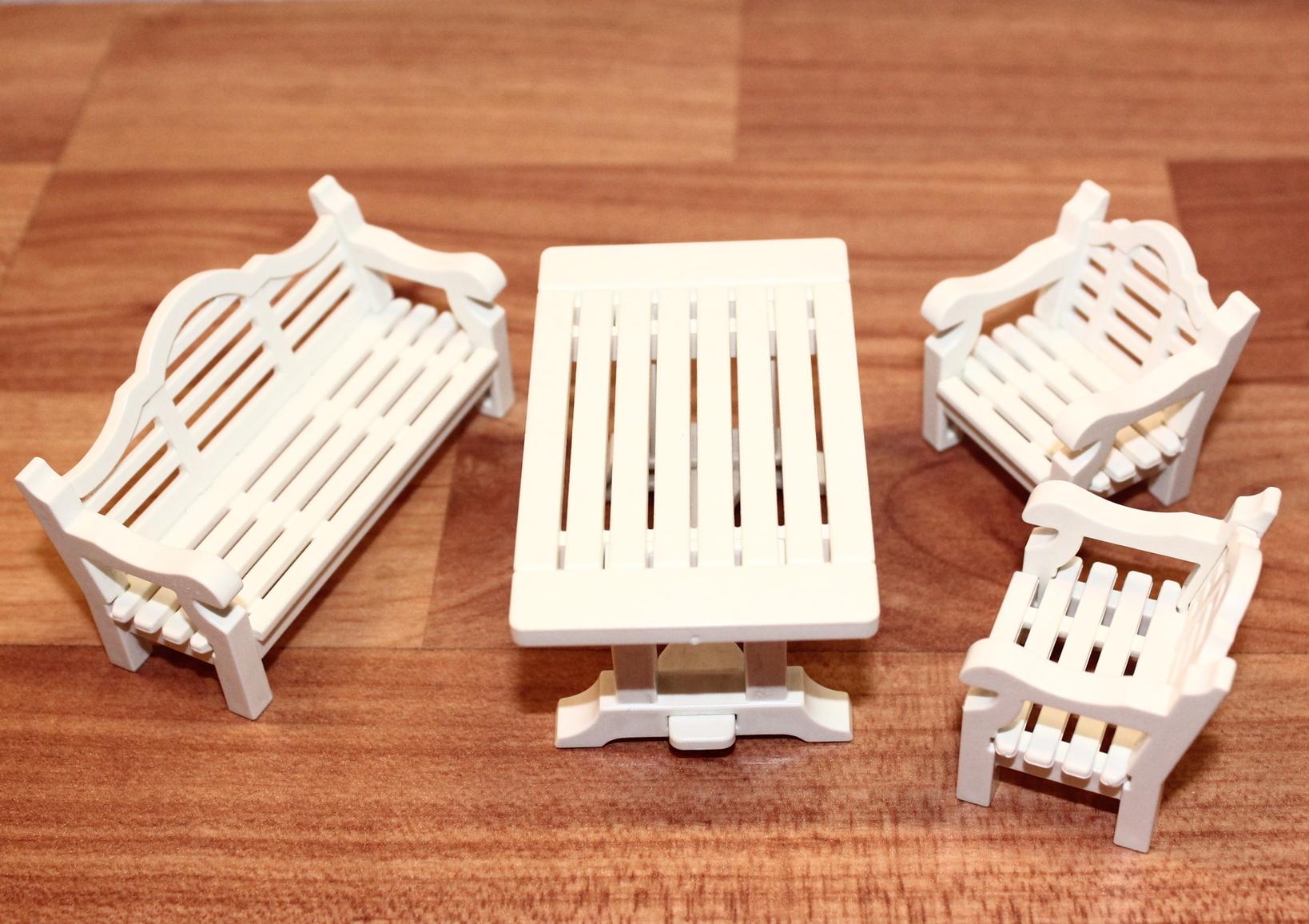 Playmobil: 7929 Gartenmöbel für die Terasse