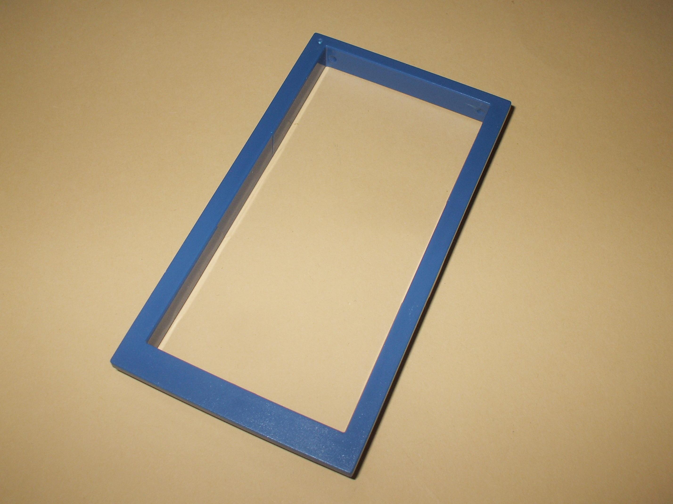 playmobil 30289110 fensterrahmen blau 10x5 cm ersatzteil 4263 4264 ebay. Black Bedroom Furniture Sets. Home Design Ideas